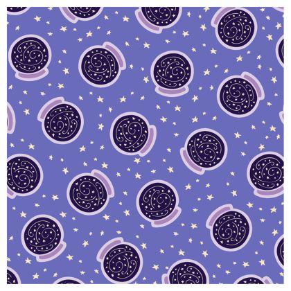 Crystal Ball Pattern Ladies Bomber Jacket