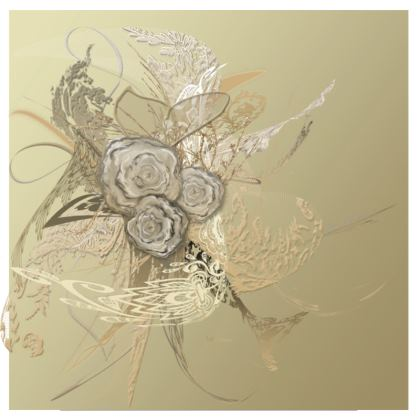 Suitcase (hand luggage) - Resväska  (handbagage) - 50 shades of lace gold