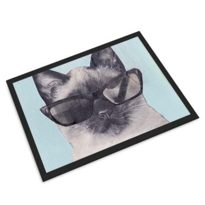 Cool Cat Door Mat
