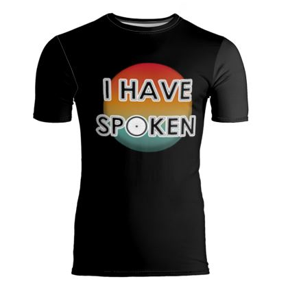 Slim Fit Mens T-Shirt - I have Spoken 1