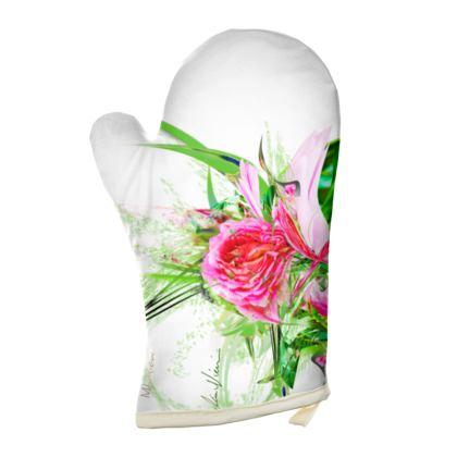 Oven Glove - Grytvante - Pastells white