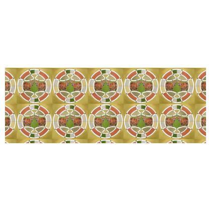 Symmaria Foxes Cylinder Tin