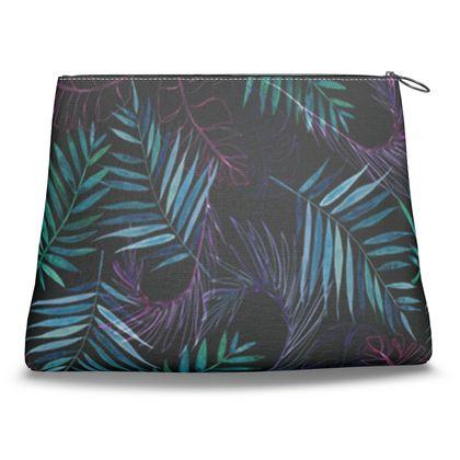 Glow Jungle Clutch Bag