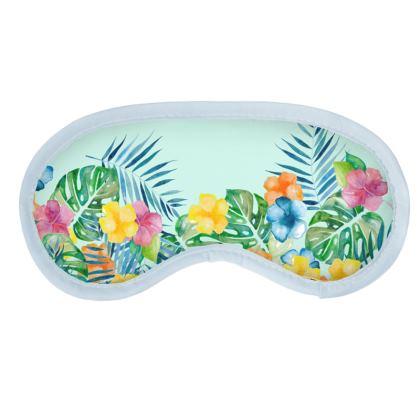 Tropical Fall Eye Mask