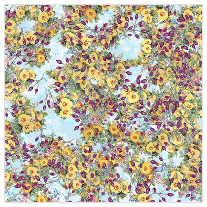 A Flowery Paradise Fabric