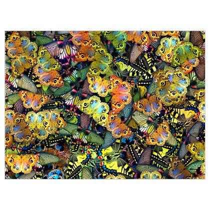 A World of Butterflies Fabric