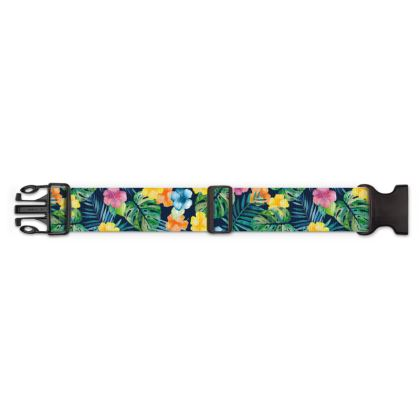 Tropic Petals Luggage Strap