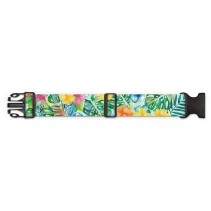 Tropical Fall Luggage Strap