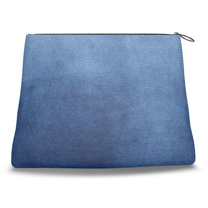 Blue Gradient Clutch Bag