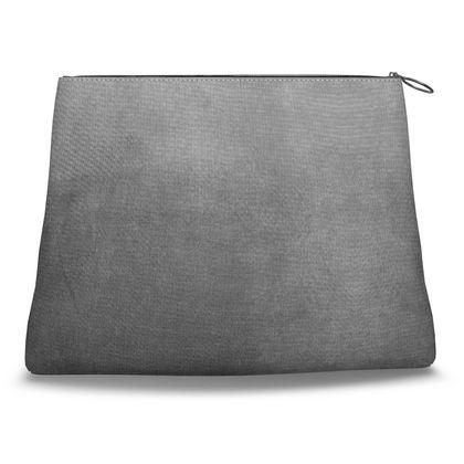Gray Gradient Clutch Bag
