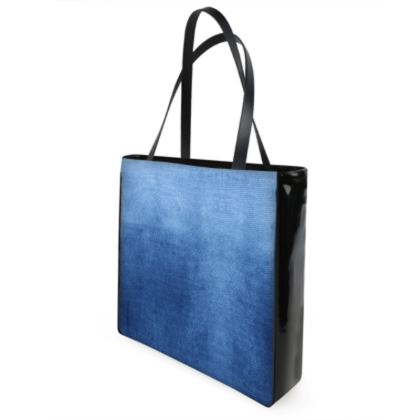 Blue Gradient Handbag