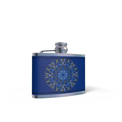 Leather Wrapped Hip Flask