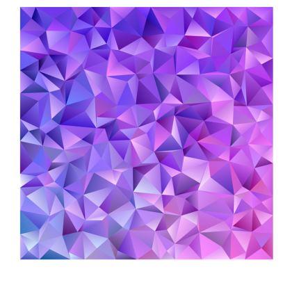 Slip Dress - Purple Prisms