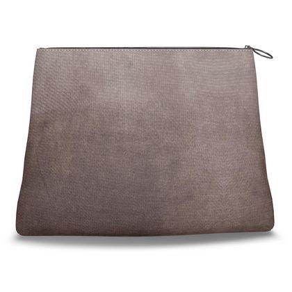 Brown Smog Clutch Bag