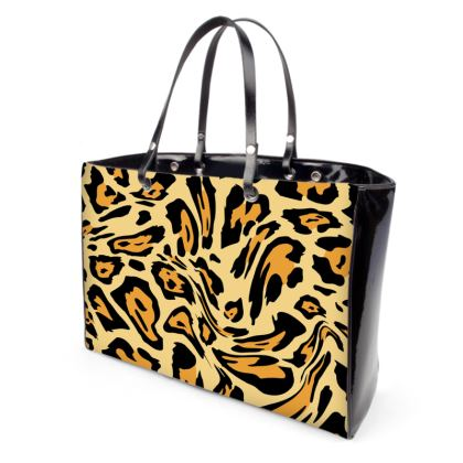 Double Sided Animal Print Handbag