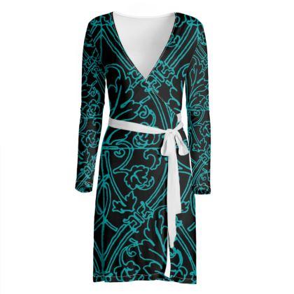 Spiral Green Dress