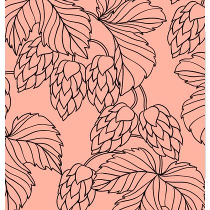 flower textile crossbody bag