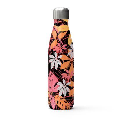 Orange Blossom Summer Floral Bottle