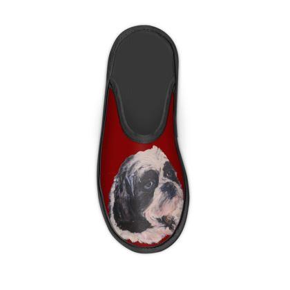 Hugo the Shih Tzu Slippers