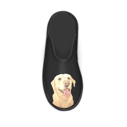 Biscuit the Golden Labrador Retriever Slippers