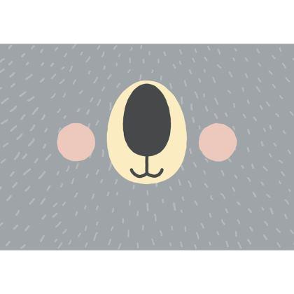 Koala Face Mask