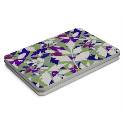Pencil Case Box  Diamond Leaves  Treetops