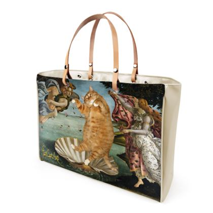 "Handbag ""Botticelli's Venus cat"""