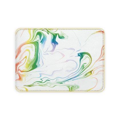 Card Holder - Marbling Smoke 1