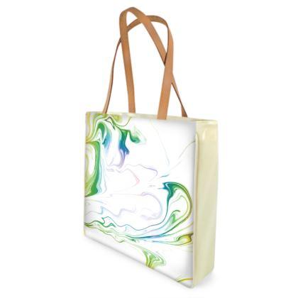 Shopper Bags - Marbling Smoke 1