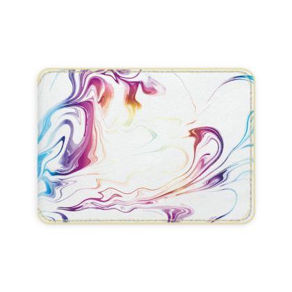 Card Holder - Marbling Smoke 2