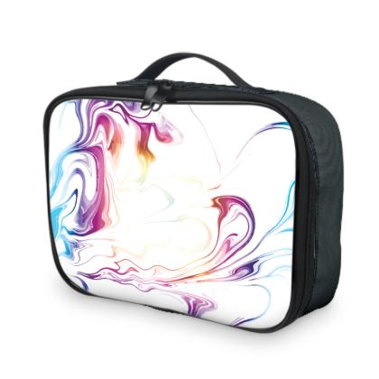 Lunch Bags - Marbling Smoke 2