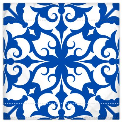 Royal Blue Print