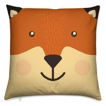 Smiling Fox Cushion
