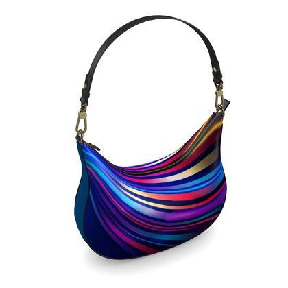 Curve Hobo Bag - Neon Nights