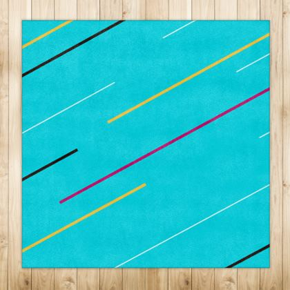 Rugs- Emmeline Anne Blue Zigzags