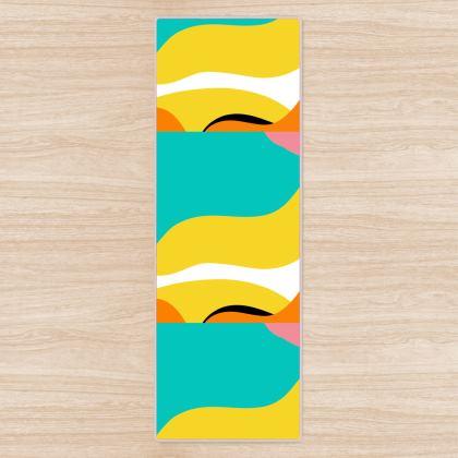 Yoga Mat- Emmeline Anne Summer Waves