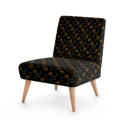 Occasional Chair-Mexican Glory Black