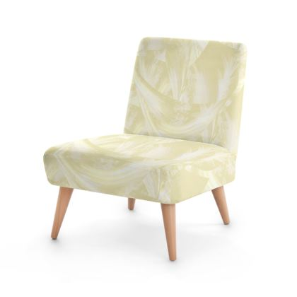 Occasional Chair-Cream Delux