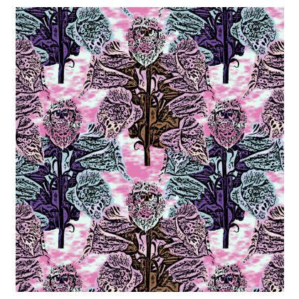 Pink, Teal, Kimono Jacket  Foxglove  Shortcake