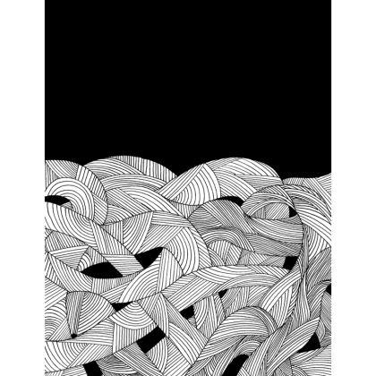 Hoodie - Tangled Waves