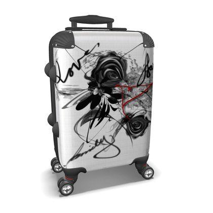 Suitcase (hand luggage) - Resväska  (handbagage) - Love Family Happiness
