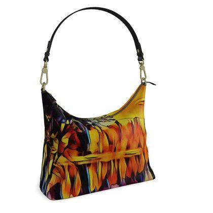 Square Hobo Bag -  Reflections