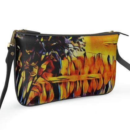 Pochette Double Zip Bag - Reflections