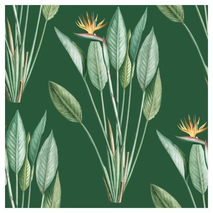 Large Scale Wallpaper | Paradise in Dark Green