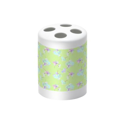Green Toothbrush Holder  My Sweet Pea  New Lime