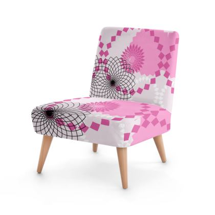 Occasional Chair- Emmeline Anne Pink Patterns