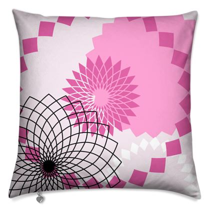 Cushions- Emmeline Anne Pink Patterns