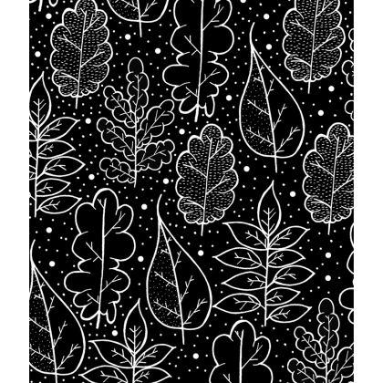 Skater Dress - Autumn (Black and white)