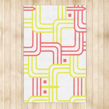 Rug- Emmeline Anne Red/Yellow Links