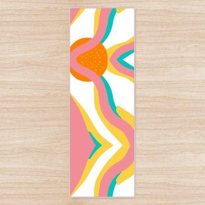 Yoga Mat- Emmeline Anne Sunshine Rays